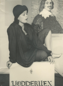Anita Poolman in Trijntje Cornelis 1984-foto Jaap Verster